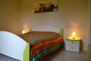 """Mini-appartamento """"Non ti scordar di me"""" (Foglie) - Camera da letto"""