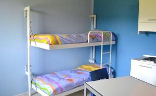 """Mini-appartamento """"Non ti scordar di me"""" (Fiori) - Lettini"""