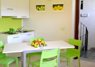 """Mini-appartamento """"Non ti scordar di me"""" (Foglie) - Cucina"""